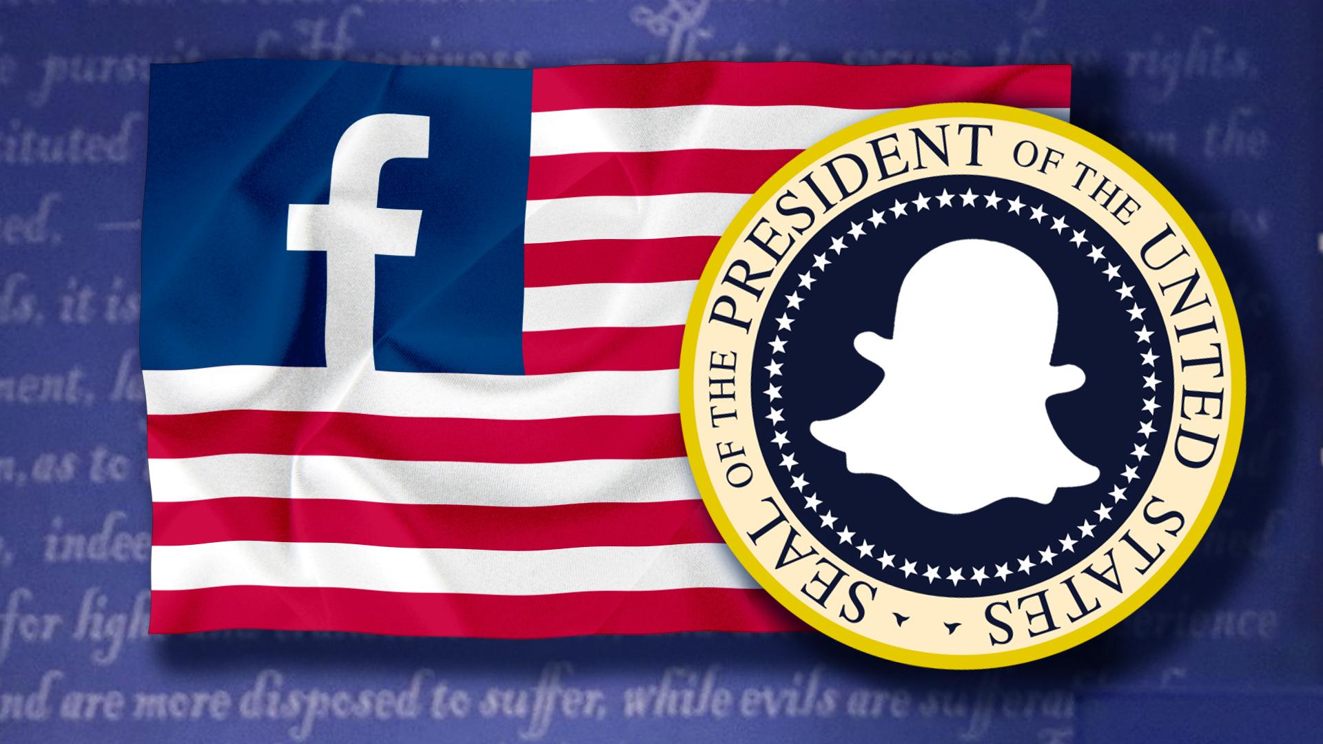 Sociáoní sítě USA